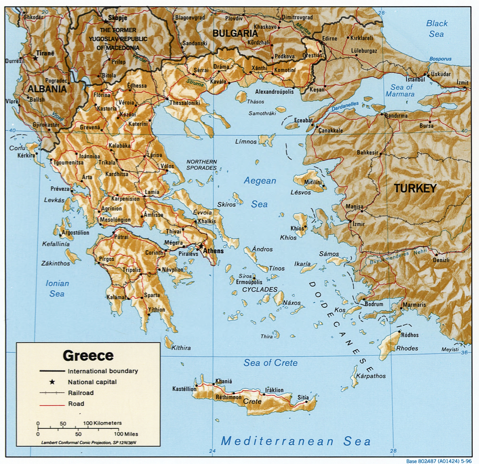 Greece Map Images.Map Of Greece Facing History And Ourselves