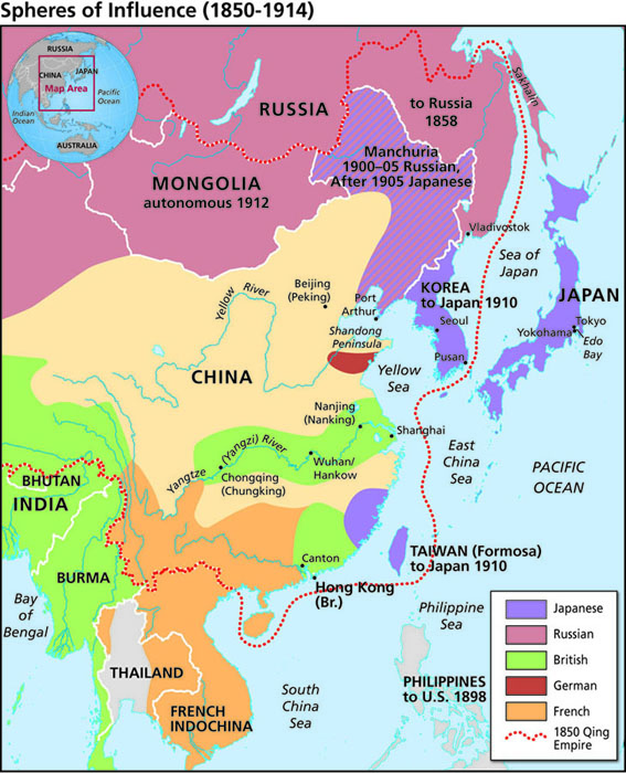 Map Of Asia And China.The Nanjing Atrocities Gallery Of Maps Facing History And Ourselves