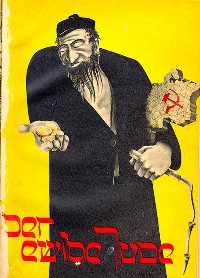 "Cover of a 1937 publication advertising the German exhibition ""The Eternal Jew"""