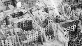 Berlin in the aftermath of the Second World War.