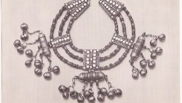 Yemenite necklace on exhibit