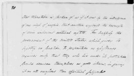 second page of handwritten letter by president George Washington addressed to the Hebrew congregation of Newport, Rhode Island, dated 1790.