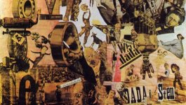 A collage of several cutout pieces by Hannah Hoch.