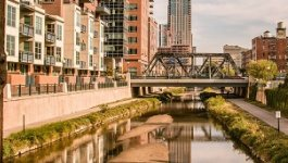 The city of Denver has rivers, parks, and a smoking ban.