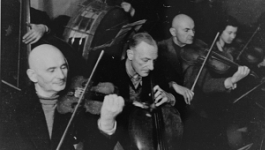 Men's Orchestra Playing