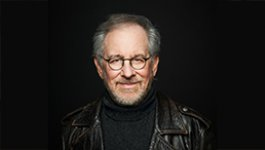 Headshot of filmmaker Steven Spielberg