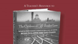 Book cover for A Teacher's Resource to The Children of Willesden Lane by Mona Golabek and Lee Cohen.