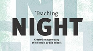 Book cover of Teaching Night resource from Facing History and Ourselves
