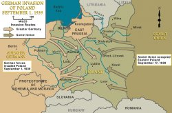 Map Of Poland Before 1939 Map of German Administration of Poland, 1939 | Facing History and