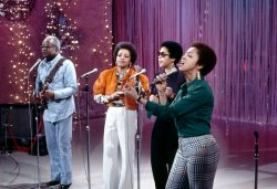 The Staples Singers Performing