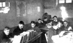 8 or 9 children studying at Les Grillons in Le Chambon-sur-Lignon.