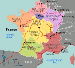Map Of France North.Map Of France Facing History And Ourselves