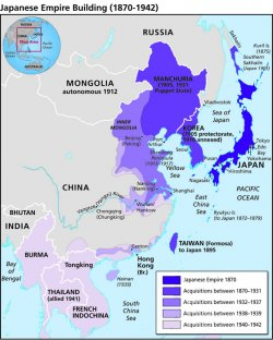 The Nanjing Atrocities Map Japanese Empire Building 1870 1942