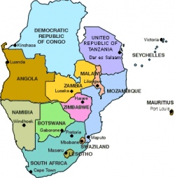 Africa Map States