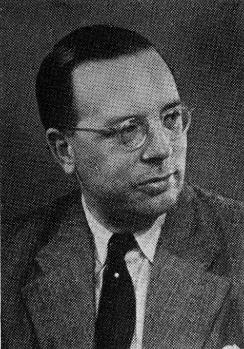 A portrait of Georg Duckwitz, a German diplomat in Denmark.