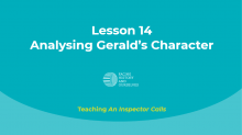 Analysing Gerald's Character