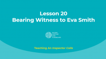Bearing Witness to Eva Smith