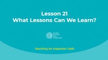 What Lessons Can We Learn?