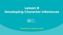 Developing Character Inferences