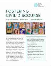 Fostering Civil Discourse: A Guide for Classroom Conversations