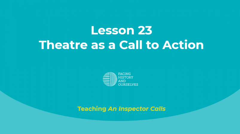 Theatre as a Call to Action