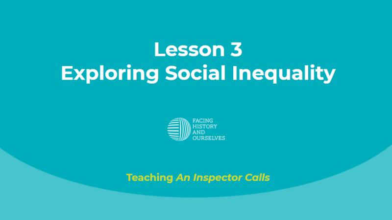 Exploring Social Inequality