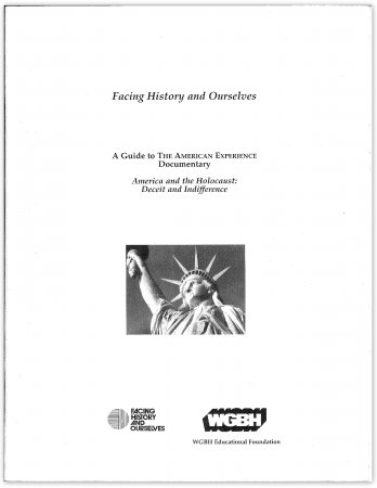 America and the Holocaust Study Guide