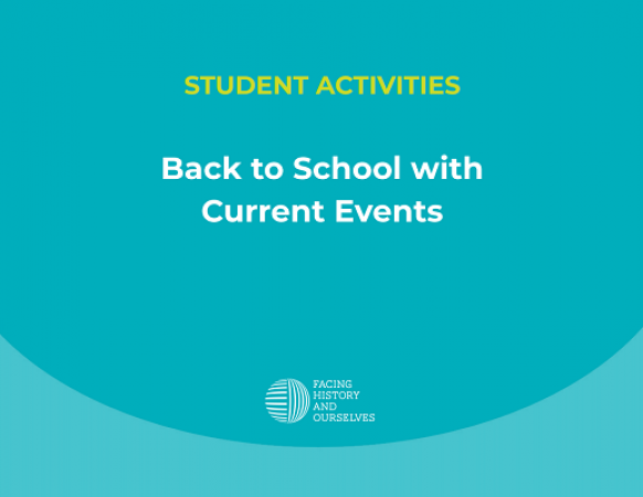 Student Activities: Back to School with Current Events