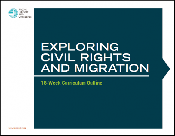 Exploring Civil Rights and Migration: 18-week Curriculum Outline