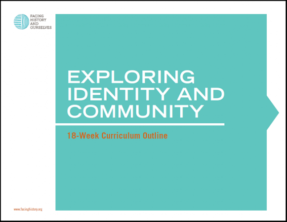 Exploring Identity and Community: 18-week Curriculum Outline
