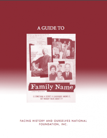 Family Name Study Guide